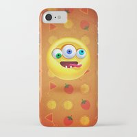 positive iPhone & iPod Cases featuring Positive by Keyspice