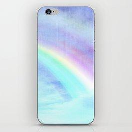 Watecolor Rainbow iPhone Skin