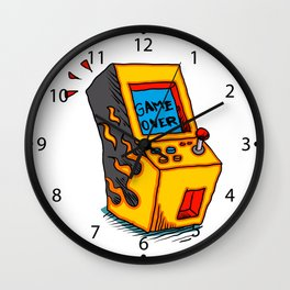 Vintage Arcade game Machine Wall Clock