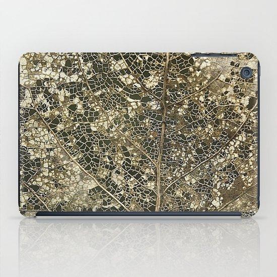 Old gold iPad Case