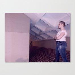 a stand-still (blur) Canvas Print
