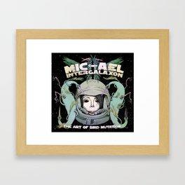 Michael Intergalaxon (Color) Framed Art Print