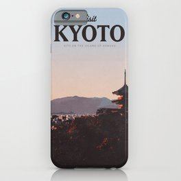 Visit Kyoto iPhone Case