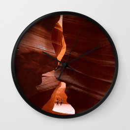 Like a memory carved in the rock Wall Clock