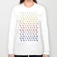 history Long Sleeve T-shirts featuring Fin History by Last Call