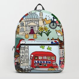 The Queen's London Day Out Backpack