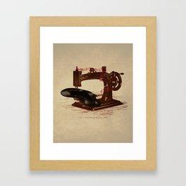Sew Framed Art Print