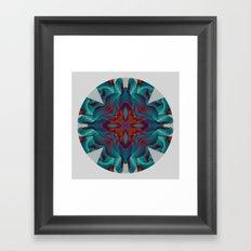 Mandala VI Framed Art Print