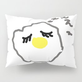 sleepy egg Pillow Sham