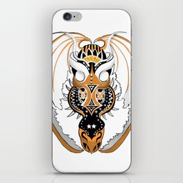 Copperhead Dragon iPhone Skin