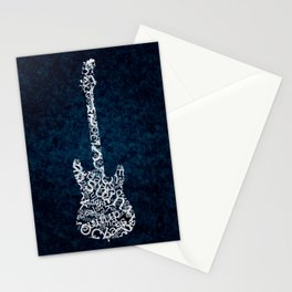 While My Guitar Gently Whips Stationery Cards