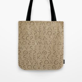 The oldest law code in Europe Tote Bag