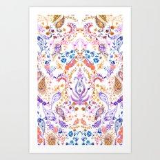 Paisley Dreamer  Art Print