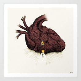 Heart Sanctuary Art Print