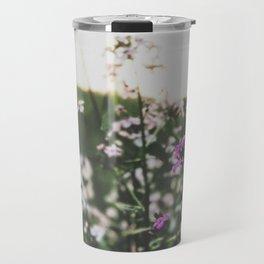 Purple Flowers • Appalachian Trail Travel Mug