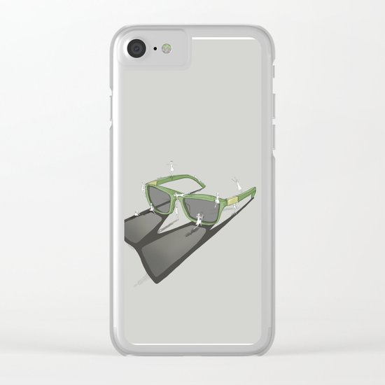 Change your view Clear iPhone Case