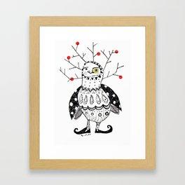 i'm the cherry! Framed Art Print