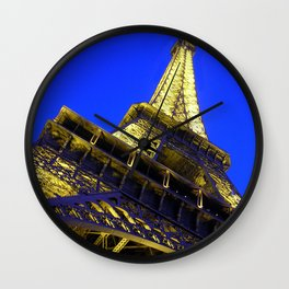 Eiffell Tower Wall Clock