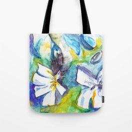 Wasserblumen / Waterflowers Tote Bag