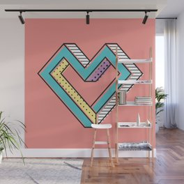 le coeur impossible (nº 2) Wall Mural