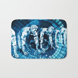 Career Development with Corporate Training and Classes Bath Mat