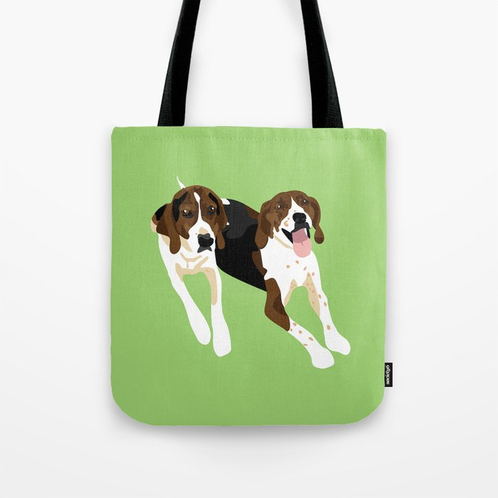 Maggie and Lucy Tote Bag