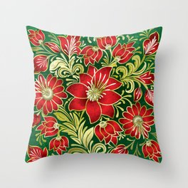 Shabby flowers #4 Throw Pillow