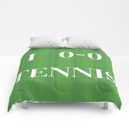 I heart Tennis Comforters