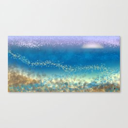 Abstract Seascape 03 wc Canvas Print