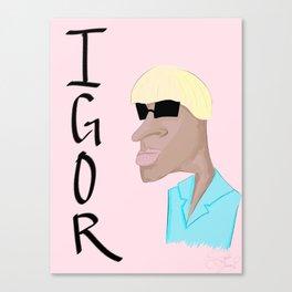 a god Canvas Print