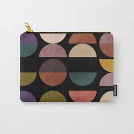mid century abstract geometric autumn 3 Carry-All Pouch