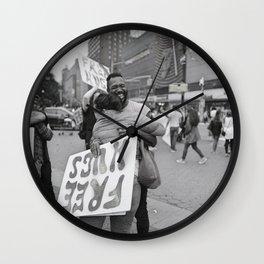Embrace Friendship Wall Clock
