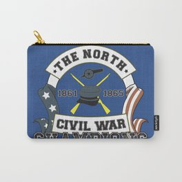 American Civil War Champions - Northern Pride - The Union - Parody Shirt Carry-All Pouch