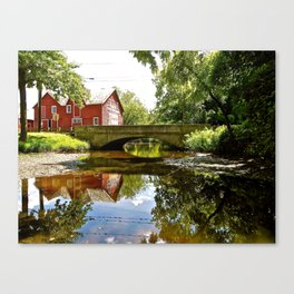 It's amazing what you stumble upon... Canvas Print