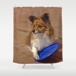 My Frisbee Shower Curtain