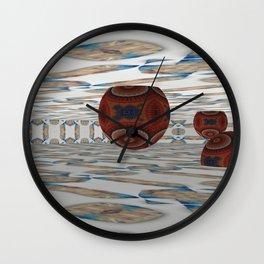 New Ball Invasion 7 Wall Clock