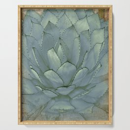 Agave Succulent Cactus Serving Tray