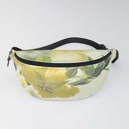 Primrose Willow wild flowers blossom Fanny Pack