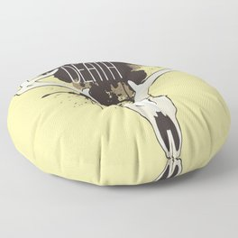 Care About Death Floor Pillow