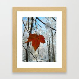 The Last of Autumn  Framed Art Print