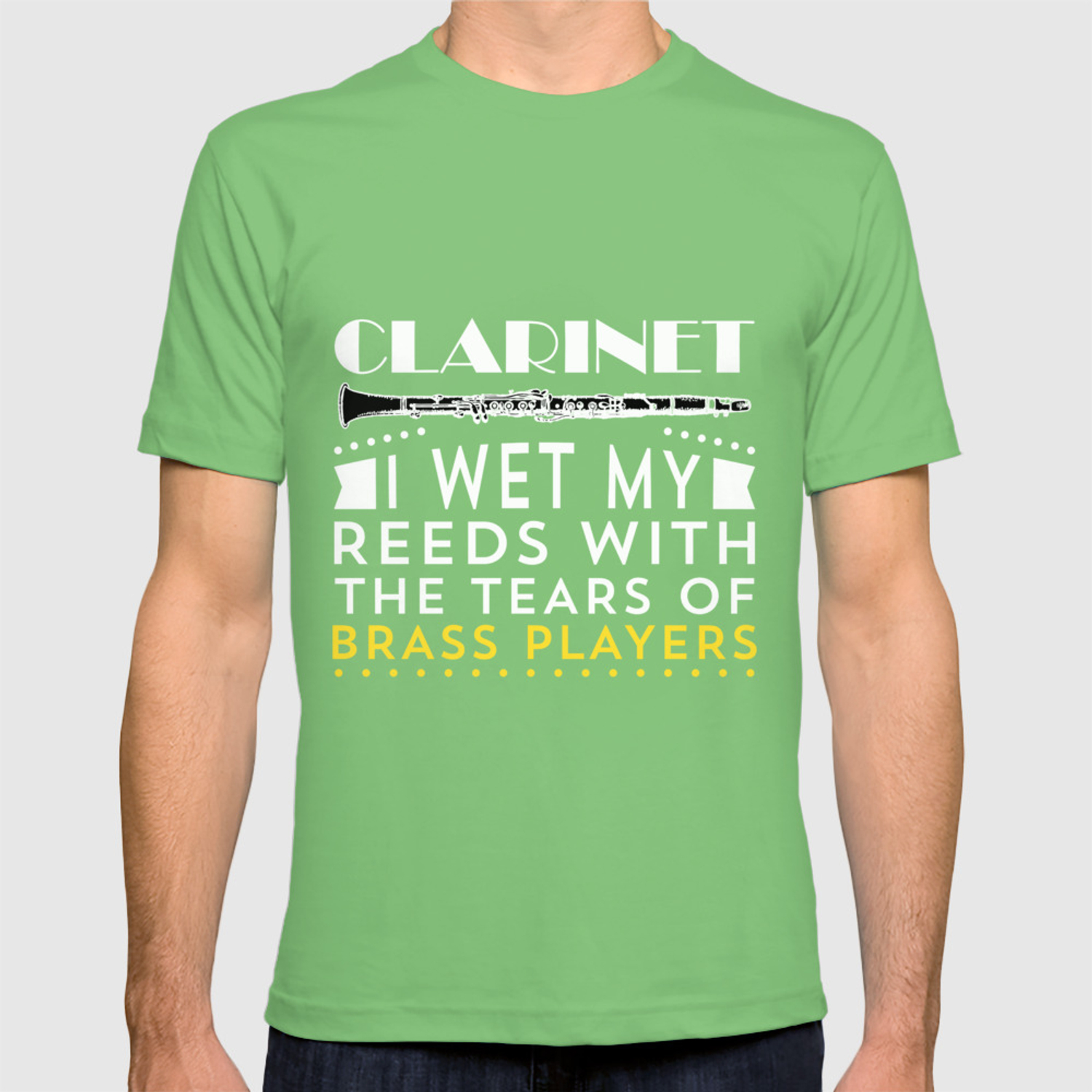 I Wet My Reeds With The Tears Of Brass Players T Shirt By Noirty Society6