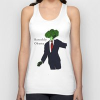 obama Tank Tops featuring Barackly Obama by Pattavina