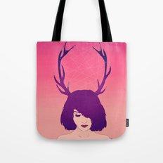 Jackalope Lady Tote Bag