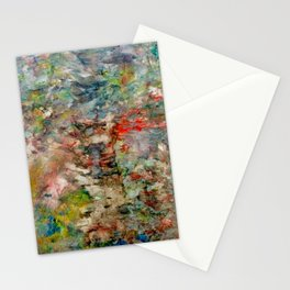 heartbeat in color Stationery Cards