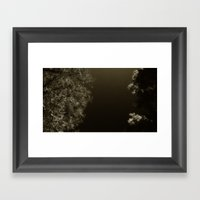 under night Framed Art Print
