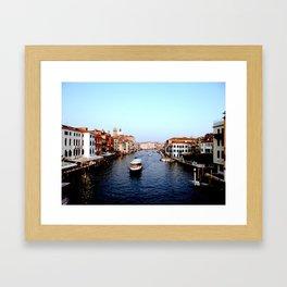 Venice Grand Canal Framed Art Print