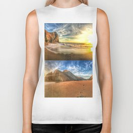 Tennessee Valley Stacked Panorama Biker Tank