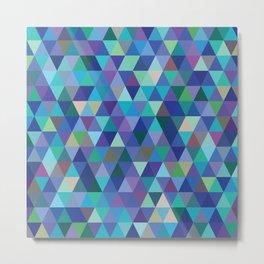 Cold Tessellation Metal Print