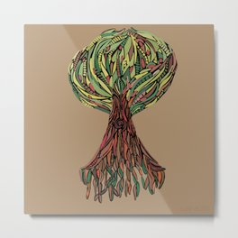 Sapling Tree - By Sapling Metal Print