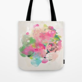 floral abstract bouquet Tote Bag